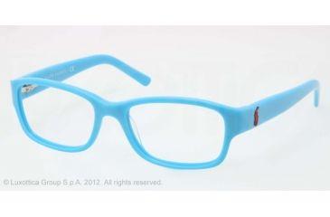 Ralph Lauren RL6103 Progressive Prescription Eyeglasses 5417-51 - Azure Frame, Demo Lens Lenses