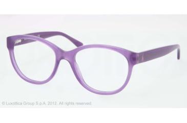 Ralph Lauren RL6104 Progressive Prescription Eyeglasses 5337-50 - Violet Opaline Frame, Demo Lens Lenses