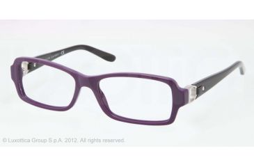 Ralph Lauren RL6107Q Single Vision Prescription Eyeglasses 5412-53 - Violet Frame, Demo Lens Lenses