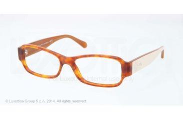Ralph Lauren RL6110 Eyeglass Frames 5449-51 - Red Havana Vintege Effect Frame