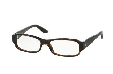 e61a2e59030 Ralph Lauren RL6121B Eyeglass Frames 5003-50 - Dark Havana Frame
