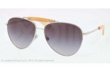Ralph Lauren RL7044 Progressive Prescription Sunglasses RL7044-900171-59 - Lens Diameter 59 mm, Lens Diameter 59 mm, Frame Color Shiny Silver