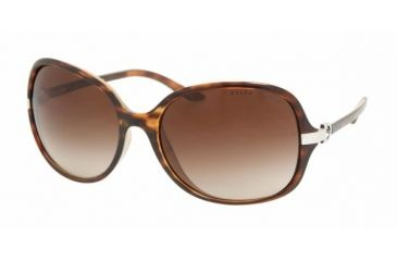 Ralph Lauren RL8064 Sunglasses, Antique Havana Frame, Brown Gradient 525913-5917