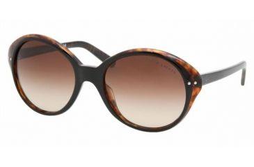 Ralf Lauren RL8069 #526013 - Top Black-Havana Brown Gradient Frame