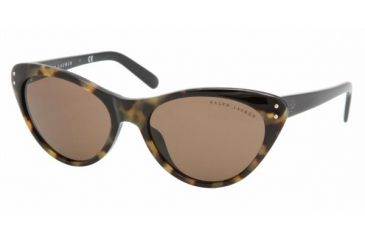 Ralf Lauren RL8070 #501073 - Top Yellow Havana-Black Brown Frame