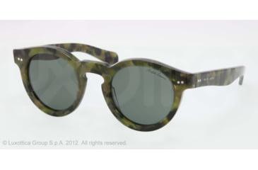 Ralph Lauren RL8071W Sunglasses 543652-46 - Camouflage Frame, Grey-Green Lenses