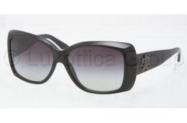 Ralph Lauren RL8080 Sunglasses 50018G-5714 - Black Frame, Gray Gradient Lenses