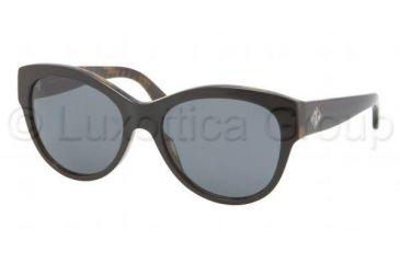 Ralph Lauren RL8089 Single Vision Prescription Sunglasses RL8089-526071-5417 - Lens Diameter 54 mm, Frame Color Top Black Havana