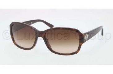 Ralph Lauren RL8102B Sunglasses 500313-5716 - Dark Havana Frame, Brown Gradient Lenses