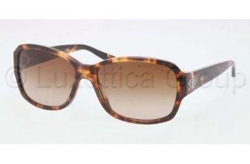 Ralph Lauren RL8102B Sunglasses 535113-5716 - Spotted Tortoise Frame, Gradient Brown Lenses