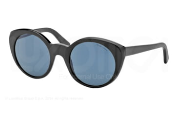 Ralph Lauren RL8104W Sunglasses 5001R5-52 - Black Frame, Grey Lenses