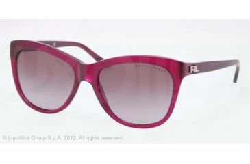Ralph Lauren RL8105 Sunglasses 54088H-56 - Purple Violet Opal Frame, Violet Gradient Lenses