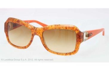 Ralph Lauren RL8107Q Sunglasses 53542L-55 - Vintage Tortoise Frame, Brown Gradient Lenses
