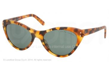 19bcc6300939 Ralph Lauren Sunglasses RL8070 503171-56 - Antique Havana vintage Frame,  Green Lenses