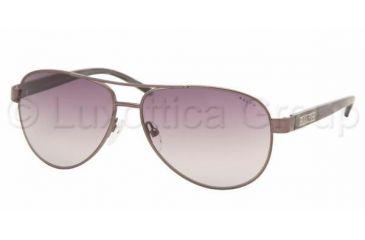 42b11bf0b9 Ralph RA 4004 Sunglasses Styles - Gunmetal Grey Horn Gray Gradient Frame