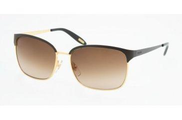 Ralph RA 4072 Sunglasses Styles - Black/Gold Gray Gradient Frame, 234-11-5515