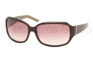 a7f59afbd3 Ralph RA 5002 Sunglasses Styles Red Green Horn Frame   Purple Gradient  Lenses