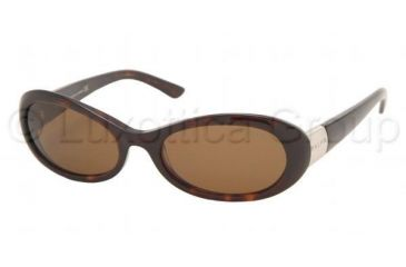 Ralph RA 5003 Sunglasses Styles - Dark Tortoise Brown Frame, 510-73-5218