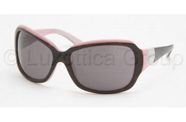 Ralph RA5005 Bifocal Prescription Sunglasses RA5005-599-87-6015 - Lens Diameter 60 mm, Frame Color Dark Tortoise