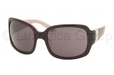 Ralph RA5031 Single Vision Prescription Sunglasses RA5031-599-87-5819 - Lens Diameter 58 mm, Frame Color Dark Tortoise