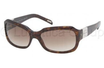 Ralph Prescription Sunglasses RA5049, Select Frame Color / Lens Diameter Dark Tortoise Frame / 54 mm Prescription Lenses