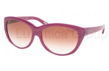Ralph RA 5078 Sunglasses Styles Purple Frame / Pink Gradient Lenses, 748-8D-5914, Ralph RA 5078 Sunglasses Styles Purple Frame / Pink Gradient Lenses