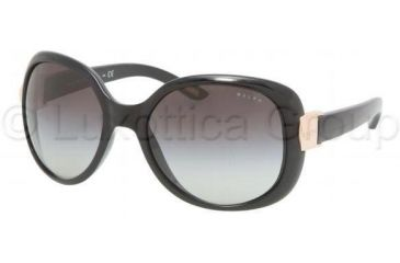 Ralph RA5106 SV Prescription Sunglasses, Black Frame / 57 mm Prescription Lenses, 501 11 5718