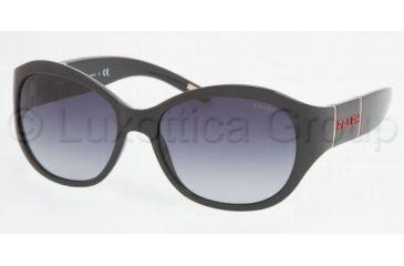 13ff43a2d9 Ralph RA 5110 Sunglasses Styles - Black Frame   Gray Gradient Lenses