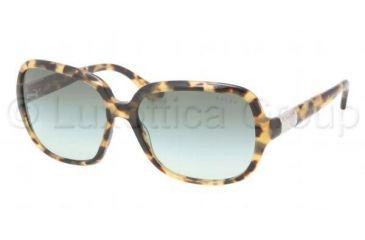 Ralph RA 5149 RA5149 Sunglasses 504/8E-5815 - Spotty Tortoise Frame, Green Gradient Lenses