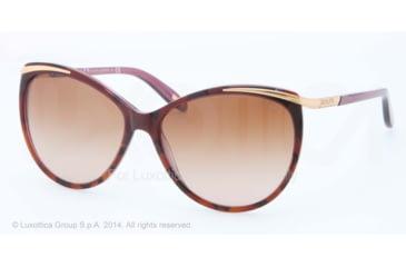 Ralph RA 5150 RA5150 Sunglasses 101813-59 - Tort/purple Frame, Brown Gradient Lenses