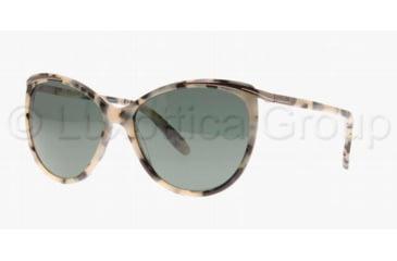 Ralph RA 5150 RA5150 Sunglasses 108971-5915 - Black Tortoise Frame, Green Lenses