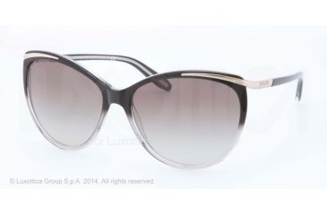 Ralph RA 5150 RA5150 Sunglasses 125411-59 - Black Grey Gradient Frame, Grey Gradient Lenses