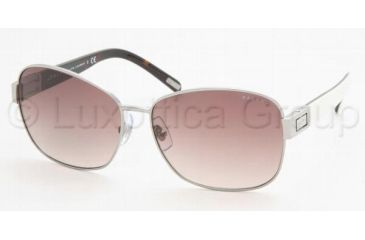 1cec436280 Ralph RA4044 Sunglasses Styles - Gunmetal Grey Horn Brown Frame w  59 mm  Diameter