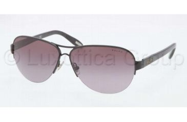 Ralph RA4095 RA4095 Sunglasses 107/8H-5811 - Black Frame, Plum Gradient Lenses