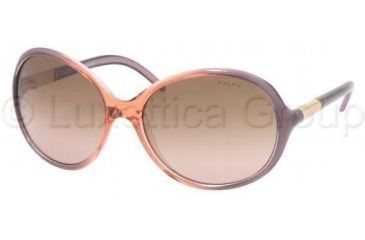 Ralph RA5071 Sunglasses 726/14-5916 - Plum/Peach Fade Brown Gradient Pink