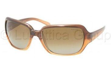 Ralph RA5090 Sunglasses 750/13-6218 - Brown Marble Fade Brown Gradient