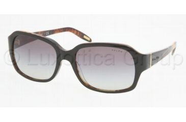 Ralph RA5122 RA5122 Progressive Prescription Sunglasses RA5122-953-11-5617 - Lens Diameter 56 mm, Frame Color Black / Tortoise
