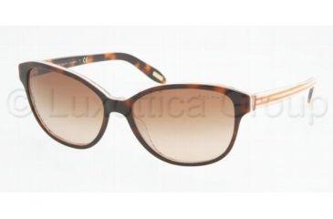Ralph RA5128 RA5128 Sunglasses 977/13-5515 - Amber/Orange Stripes Brown Gradient