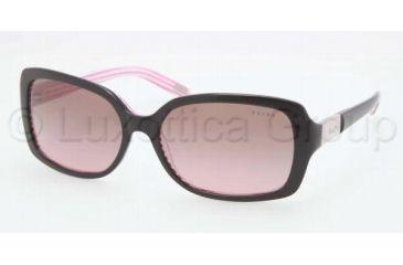 Ralph RA5130 RA5130 Bifocal Prescription Sunglasses RA5130-109214-5816 - Lens Diameter 58 mm, Frame Color Black Pink