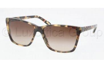 Ralph RA5141 Sunglasses 905/13-5715 - Vintage Tort Frame, Smoke Gradient Lenses