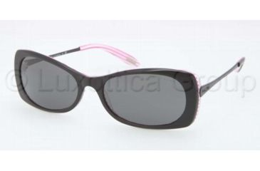 Ralph RA5158 RA5158 Progressive Prescription Sunglasses RA5158-109287-5717 - Lens Diameter 57 mm, Frame Color Grey Solid