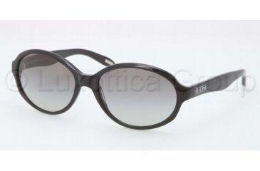 Ralph RA5159 RA5159 Single Vision Prescription Sunglasses RA5159-501-11-5816 - Frame Color Black, Lens Diameter 58 mm
