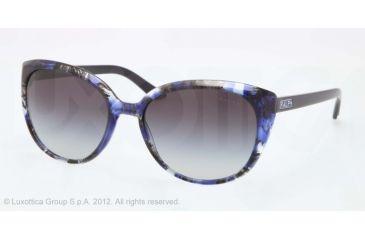 Ralph RA5161 RA5161 Bifocal Prescription Sunglasses RA5161-115111-57 - Lens Diameter 57 mm, Frame Color Blue Tort