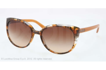 Ralph RA5161 RA5161 Bifocal Prescription Sunglasses RA5161-115213-57 - Lens Diameter 57 mm, Frame Color Yellow Tort