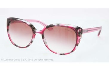 Ralph RA5161 RA5161 Bifocal Prescription Sunglasses RA5161-11548H-57 - Lens Diameter 57 mm, Frame Color Pink Tort