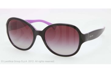 Ralph RA5167 RA5167 Sunglasses 10218H-56 - Black/Purple Stripe