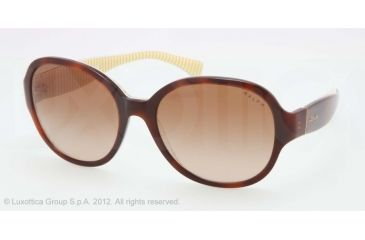Ralph RA5167 RA5167 Sunglasses 115513-56 - Tortoise/Yellow Stripe