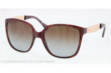 Ralph RA5173 Sunglasses 502/T5-55 - Tortoise Frame, Brown Gradient Polarized Lenses
