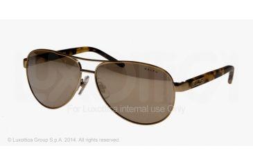 Ralph RA4004 Sunglasses with No-Line Progressive Rx Prescription Lenses RA4004-106-28-59 - Lens Diameter 59 mm, Frame Color Gold