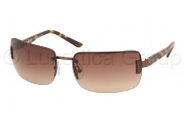 Ralph Sunglasses RA4014 - Brown / Tortoise Frame w/ Brown Gradient Lens